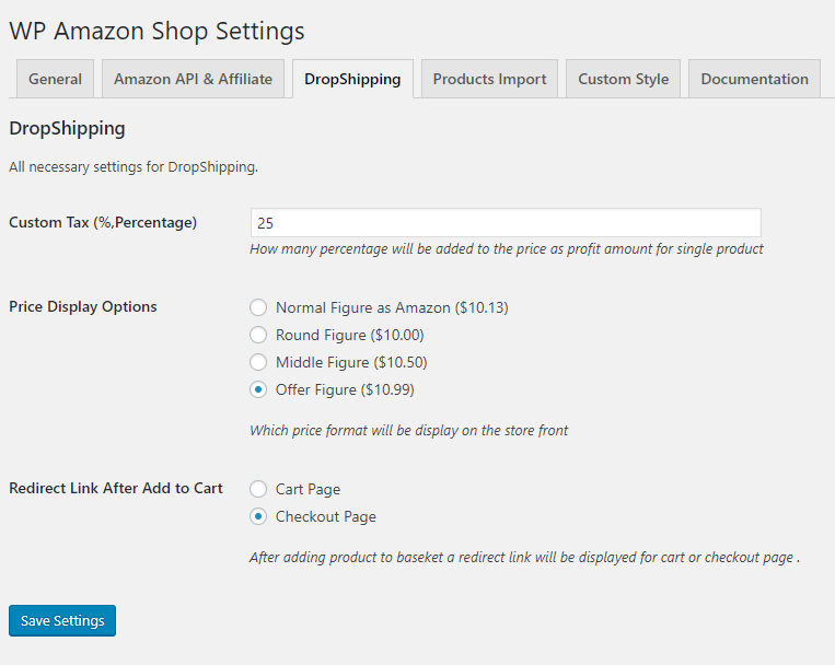 amazon dropshipping plugin